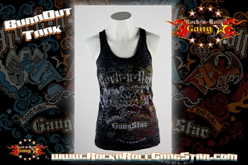 40f43757f8b14 Rock Angel Devil Burnout Tank Top