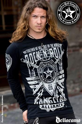 Rock N Roll Gangstar Alliance V2 Mens Long Sleeve Rock